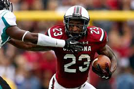 Bruce Ellington, wide receiver, South Carolina.