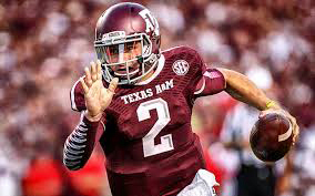 Quarterback Johnny Manziel