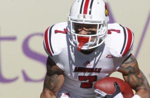 Louisville receiver Damian Copeland