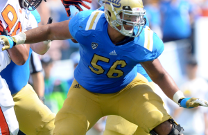 The draft stock of Xavier Su'a'Filo is rising and New Orleans has their sights set on him.